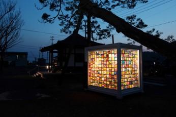 東北と東京のコラボレーション!「光の箱」